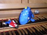 """""""När valen slukade Jona"""", orgelsaga i Matteuskyrkan tisdagen den 27.8"""
