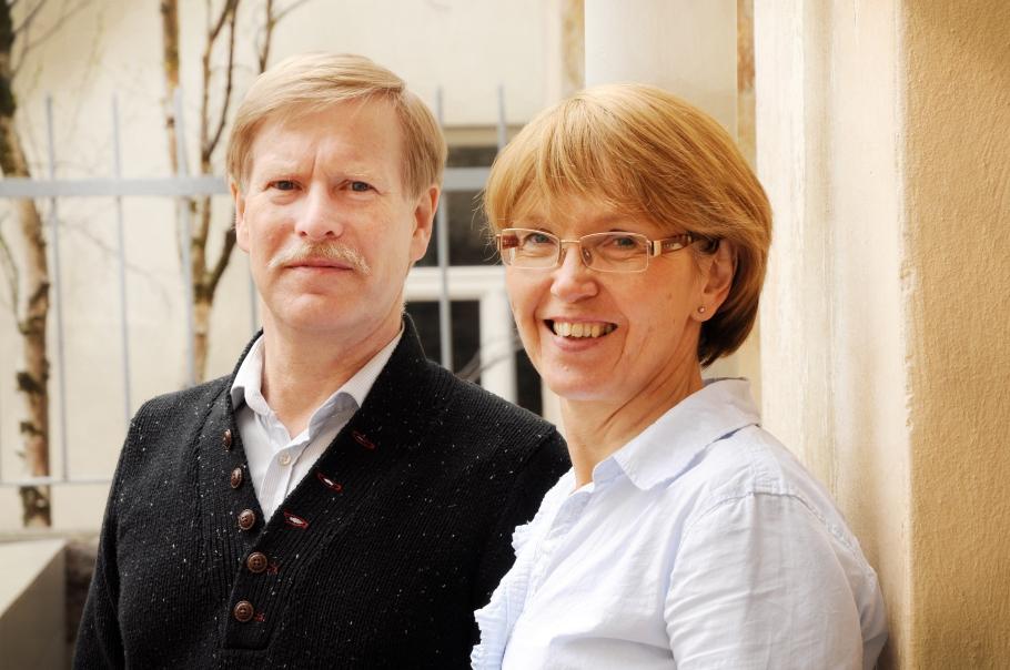 Ben och Mia Westerling. Foto: Joanna Lindén-Montes.